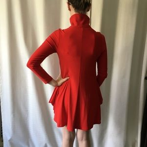 Essex Dresses - Amazing deep pocket red retro dress by Essex